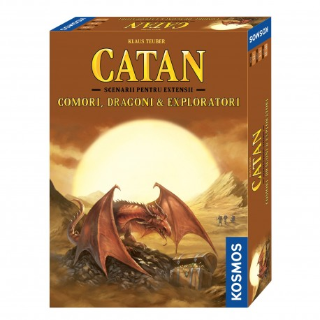 Catan - ext. Comori, Dragoni și Exploratori