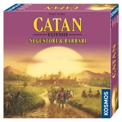 Catan - ext. Negustori și Barbari 3/4