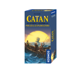 Catan - ext. Pirati si Exploratori ext. 5/6