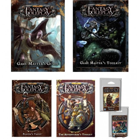 Bundle Warhammer Fantasy Roleplay Complet (Game Master + Adventurer)