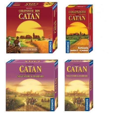 Set Catan Negustori și Barbari (2-6 jucători)