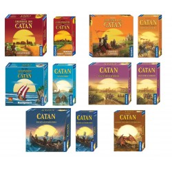Full Set Catan Complet