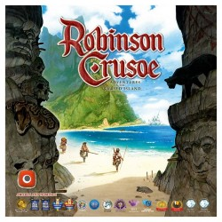Robison Crusoe - cooperative board game