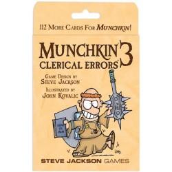 Munchkin 3 - Clerical Errors - EN