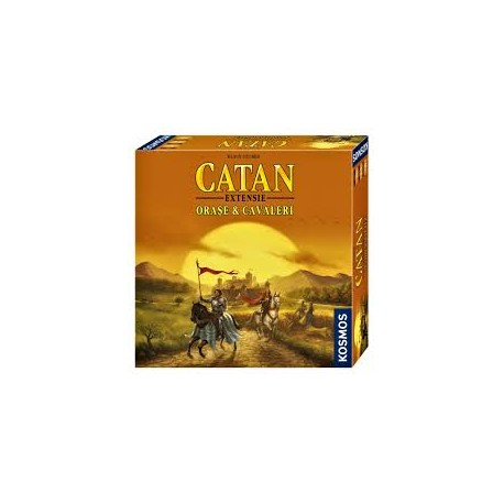 Coloniştii din Catan – extensia Oraşe şi cavaleri