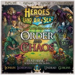 Heroes of Land, Air & Sea: Order and Chaos Expansion - EN