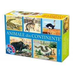 Animale din continente - clasic- joc românesc