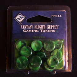 Accesorii: Fantasy Flight supplies gamming tokens green
