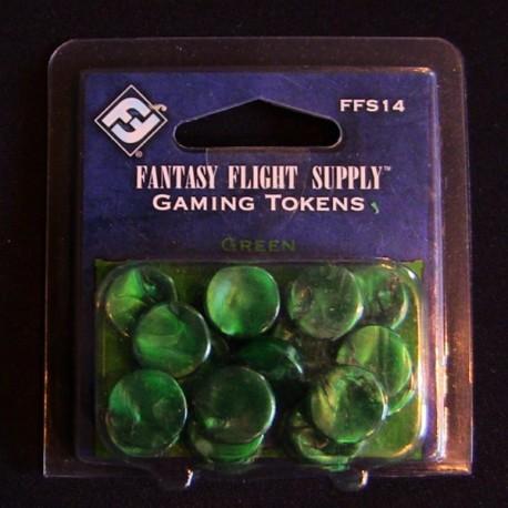 Accesorii: Fantasy Flight supplies gamming tokens green