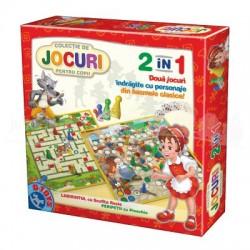 Jocuri pentru copii 2 în 1 - Pinocchio și Scufița Roșie