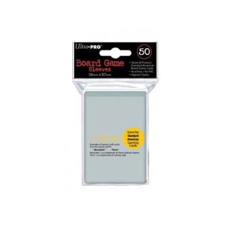 UP - Board Game Sleeves - American Standard 56x87mm (50 Sleeves)