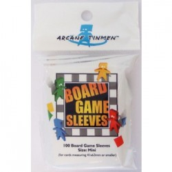 Board Games Sleeves - American Variant - Mini (41x63mm) - 100 Pcs