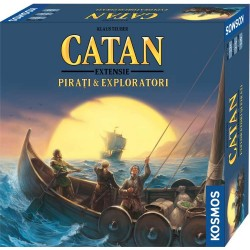 Colonistii din Catan - extensie Pirati si Exploratori