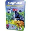 Playmobil, Save the Dinausaurs, metal box
