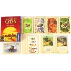 Colonistii din Catan jocul de carti