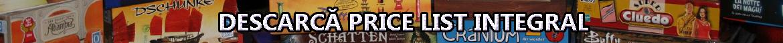 Price list 15 decembrie 2015